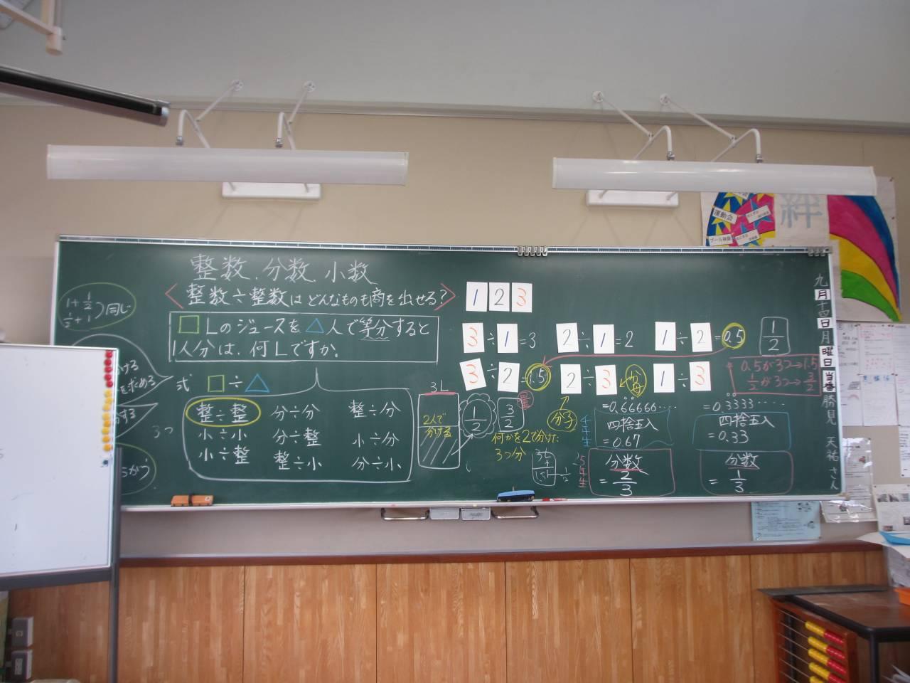 年 分数と小数、整数の関係を ... : 小数と分数 : すべての講義